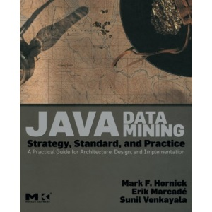 Java Data Mining: Strategy, Standard, and Practice: A Practical Guide for architecture, design, and implementation (The Morgan Kaufmann Series in Data Management Systems)