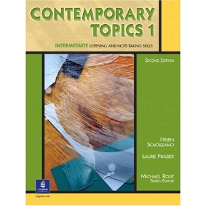 Contemporary Topics 1: Student Book: Intermediate Listening and Note-Taking Skills