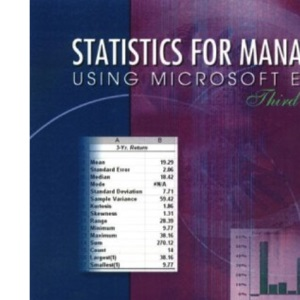 Statistics for Managers Using Microsoft Excel (International Edition)