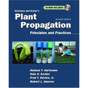 Hartmann and Kester's Plant Propagation: Principles and Practices (Book & CD)