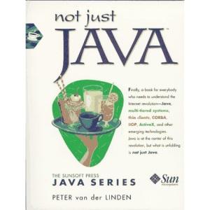 Not Just Java (SunSoft Press Java)