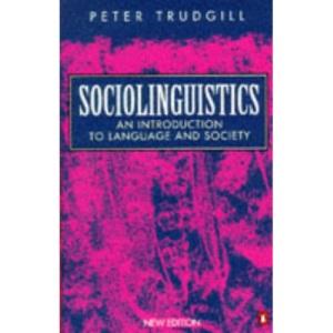 Sociolinguistics (Penguin language & linguistics)