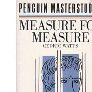 Penguin Masterstudies: Measure For Measure (Masterstudies S.)