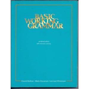 Basic Working Grammar