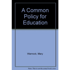A Common Policy for Education