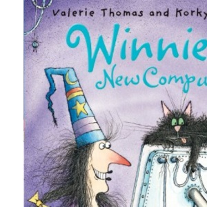 Winnie's New Computer (paperback edition with CD) (Winnie the Witch)