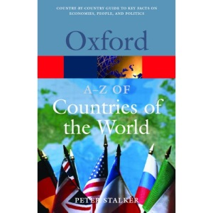 A-Z of Countries of the World (Oxford Paperback Reference)