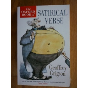 The Oxford Book of Satirical Verse (Oxford Paperbacks)