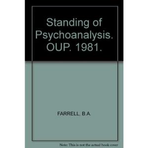 The Standing of Psychoanalysis (Opus Books)