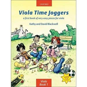 Viola Time Joggers (book + CD)