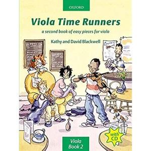 Viola Time Runners (book + CD)