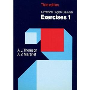 Thomson martinet practical english grammar exercises 1