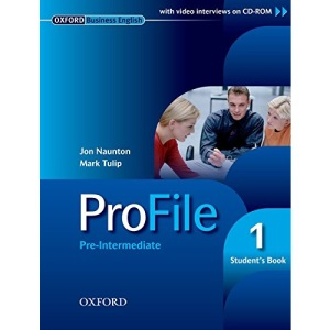 ProFile 1: Pre-intermediate Student's Book