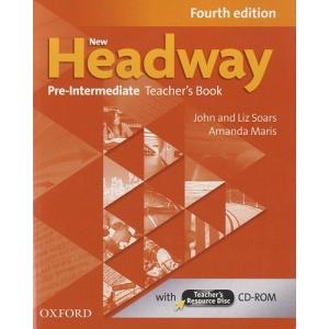 New Headway: Pre-Intermediate Fourth Edition: Teacher's Book and Teacher's Resource Disc