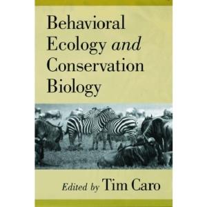 Behavioral Ecology and Conservation Biology
