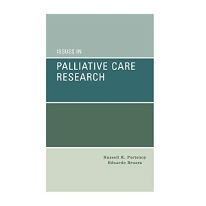 Issues in Palliative Care Research: Methodologies and Outcomes (Medicine)