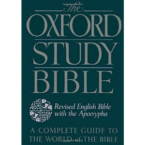 The Oxford Study Bible: The Revised English Bible with Apocrypha