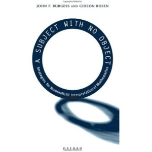 A Subject With No Object: Strategies for Nominalistic Interpretation of Mathematics