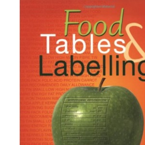 Food Tables and Labelling: Combined School Edition (Home Economics)