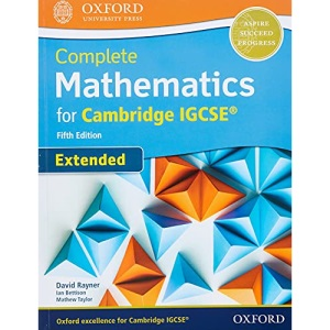 Complete Mathematics for Cambridge IGCSE® Student Book (Extended) (Core and Extended Mathematics for Cambridge IGCSE)