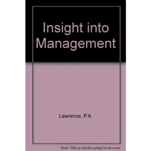 Insight into Management