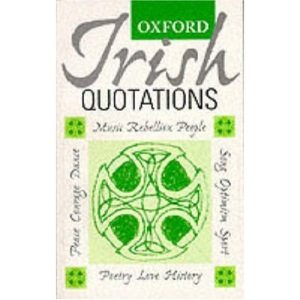 Oxford Irish Quotations
