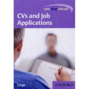 CVs and Job Applications (One Step Ahead)