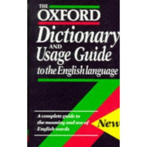 The Oxford Dictionary and Usage Guide