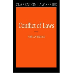 The Conflict of Laws (Clarendon Law Series)