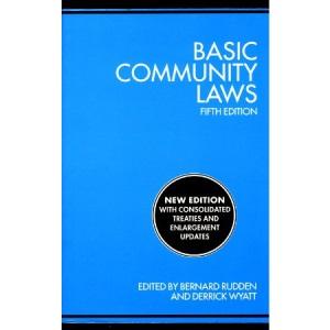 Basic Community Laws