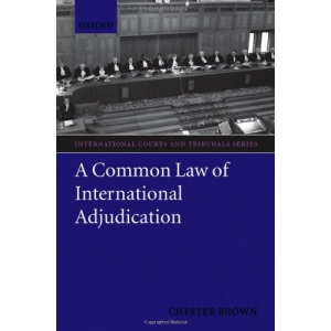 A Common Law of International Adjudication (THE INTERNATIONAL COURTS & TRIBUNALS SERIES)