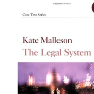 The Legal System (Core Texts Series)