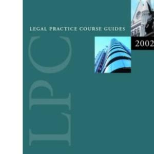 LPC Business Law 2002/2003 (Legal Practice Course Guides)