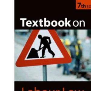 Bowers and Honeyball's Textbook on Labour Law