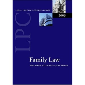 Family Law 2003 (Legal Practice Course Guides)