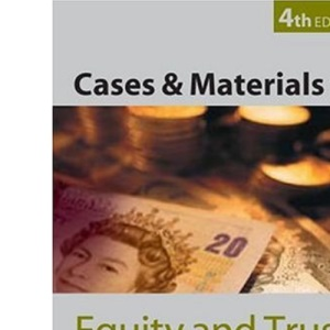 Cases and Materials on Equity and Trusts