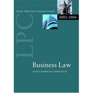 LPC Business Law (Legal Practice Course Guide)