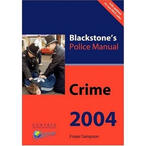 Crime (Blackstone's Police Manuals)