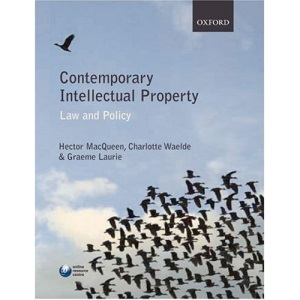 Contemporary Intellectual Property: Law and Policy (Oxford Core Texts)