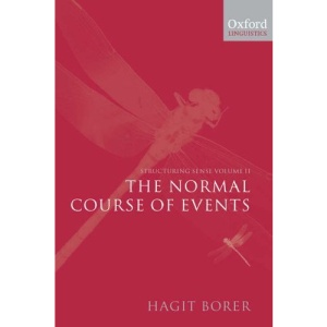Structuring Sense: Volume 2: The Normal Course of Events: Normal Course of Events Vol 2