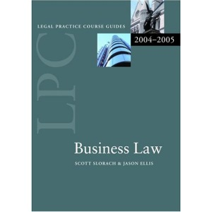 Business Law (Legal Practice Course Guide)
