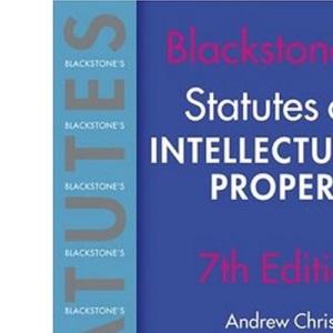 Statutes on Intellectual Property 2004/2005 (Blackstone's Statute Series)
