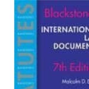International Law Documents (Blackstone's Statute Series)