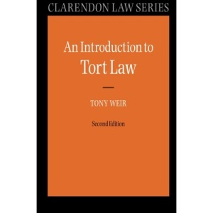 An Introduction to Tort Law (Clarendon Law Series)