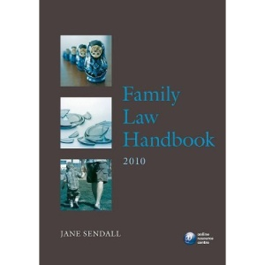 Family Law Handbook 2010 (Legal Practice Course Guide)