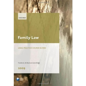 Family Law 2009: LPC Guide (Legal Practice Course Guides)