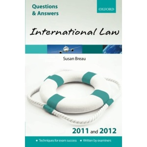 Q & A International Law 2011 and 2012 (Law Questions & Answers)