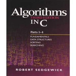 Algorithms in C: Fundamentals, Data Structures, Sorting, Searching Pts. 1-4