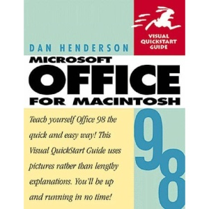 Microsoft Office 98 for Macintosh: Visual QuickStart Guide (Visual QuickStart Guides)