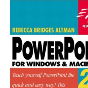 Powerpoint for Windows and Macintosh 2000/1998 (Visual QuickStart Guides)